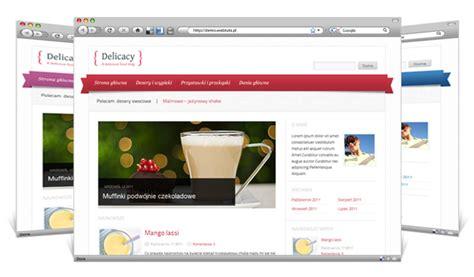blogger or wordpress delicacy food blog wordpress theme themescompany