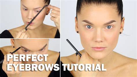 eyeliner tutorial linda hallberg perfect eyebrows tutorial with subs linda hallberg