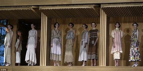 the dolls house fashion kendall jenner and gigi hadid stun in chanel s doll s house themed paris show daily