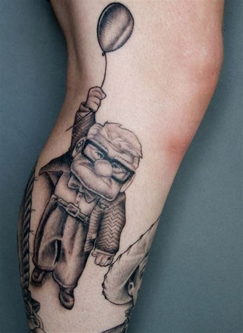 quirky tattoo pictures unusual disney inspired tattoos 20