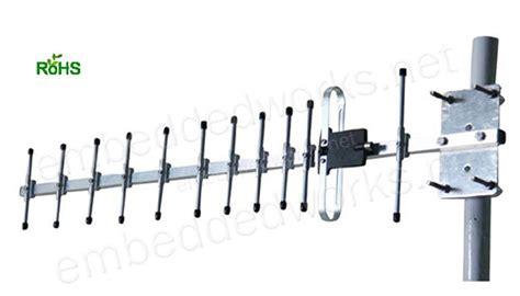 Paket Antena Yagi 25 915mhz 13 dbi gain yagi lora antenna