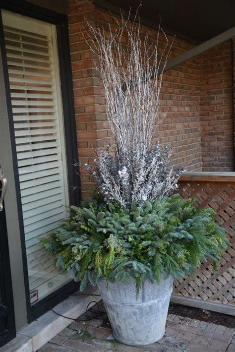 outdoor winter planter ideas winter planter by the amazing deborah silver detroit garden works branch studio deborah