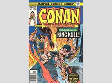 Conan the Barbarian (1970 Marvel) comic books C.