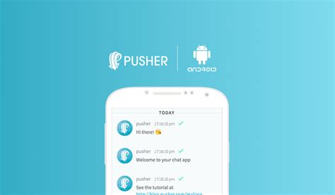 chat android build an android chat app with pusher pusher