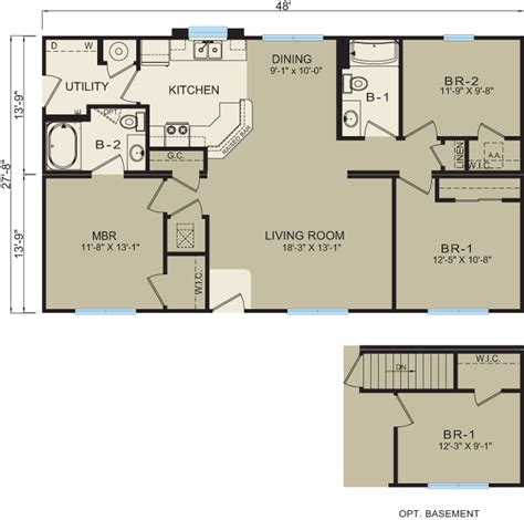 modular floor plans and prices michigan modular homes 3628 prices floor plans