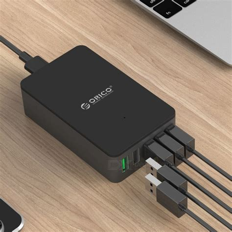 Best Seller Orico Qualcomm Charge 2 0 Power Bank 10400mah orico charge qc2 0 5 port usb charger us free shipping dealextreme