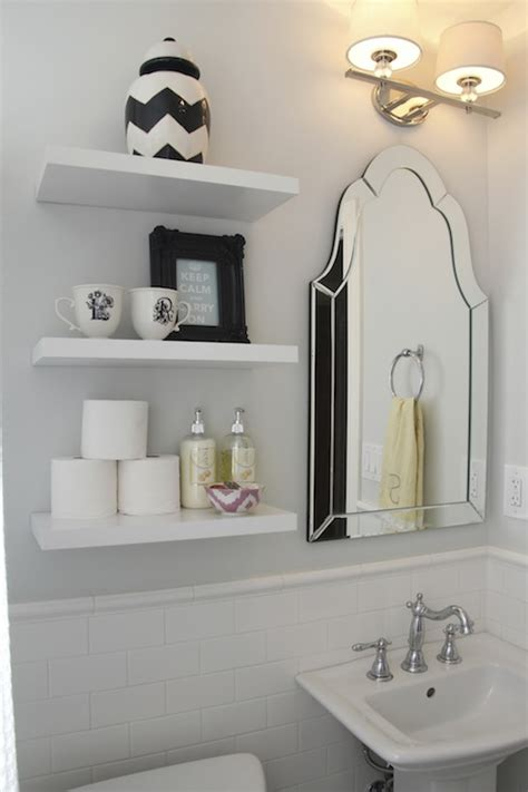 shelves in bathrooms ideas 346 living spectacular bathroom with gray walls framing