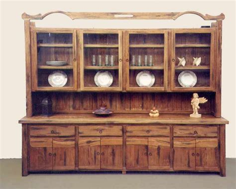Tas Oak Buffet Hutch Craftsman Buffet Sideboard Solid Wood Buffet And Hutch