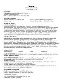 exles of resumes sle resume personal information