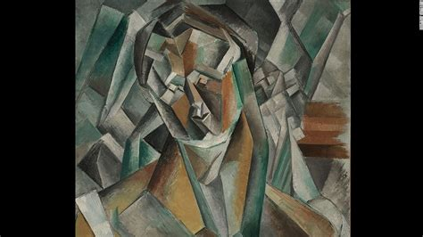 picasso paintings described picasso s femme assise portrait sells for 63 4m cnn style