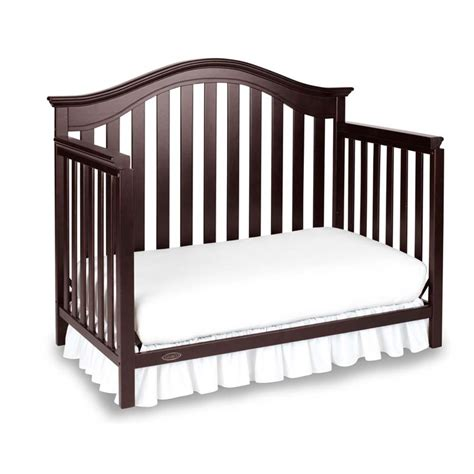 Graco Bed Rails For Convertible Cribs Graco Bryson 4 In 1 Convertible Crib In Espresso 04540 679