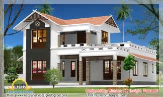 Floor Plans And Elevations Of Houses by Beautiful Home Elevation Designs In 3d Kerala Home