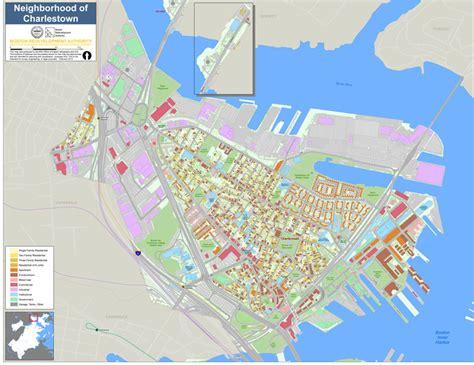 boston map neighborhoods neighborhood maps boston planning development agency