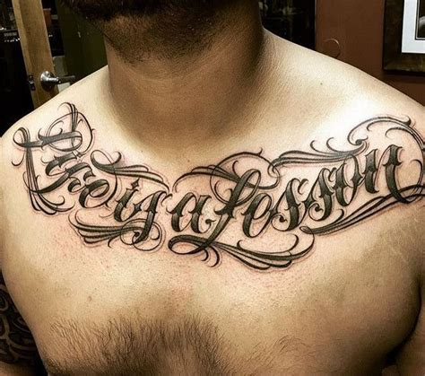 design my tattoo lettering lettering chicano at chest design ideas