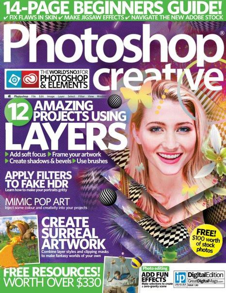 130 free magazines from cot co uk photoshop creative 130 2015 uk pdf download free
