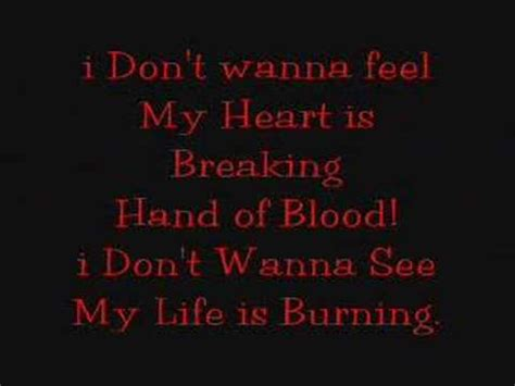 lyrics bullet for my bullet for my of blood lyrics