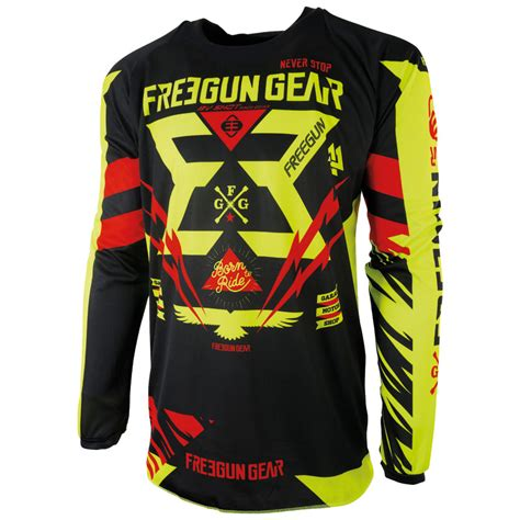 Jersey Motor Cross Freegun 1011 t shirt freegun awesome home ue freegun ue tshirts ue freegun shirt usa noir with t shirt