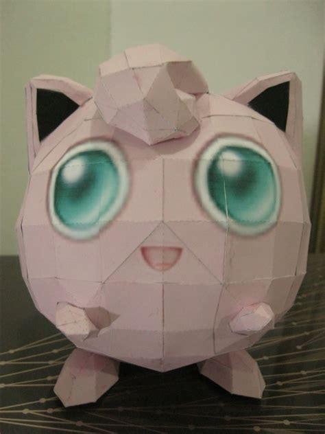 Origami Jigglypuff - jigglypuff paper craft 183 how to make a paper