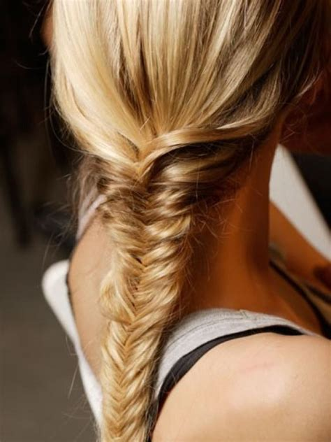Fish Braids Hairstyles by Fish Braid Hairstyle Hair Inpspiration 890967