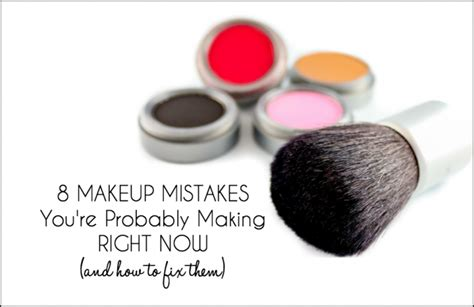8 Classic Make Up Mistakes To Avoid by 8 Makeup Mistakes You Re Right Now