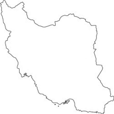 Iran Map Outline by List Of Countries From E To L أجهزة الملاحة العربية