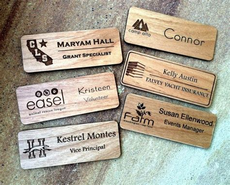 Handmade Name Badges - best 25 name badges ideas on birthday badge