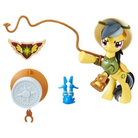My Pony Daring Do Dazzle Guardians Of Harmony equestria daily mlp stuff daring do and applejack