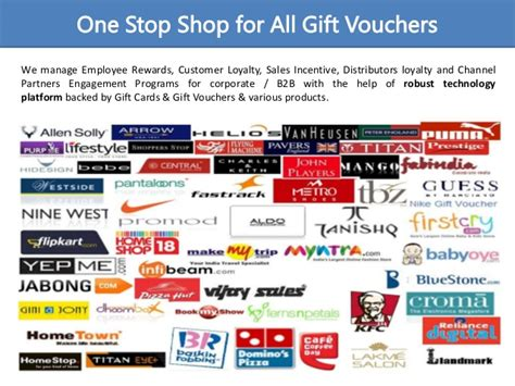 One For All Gift Card Shops - gift vouchers gift cards one stop shop