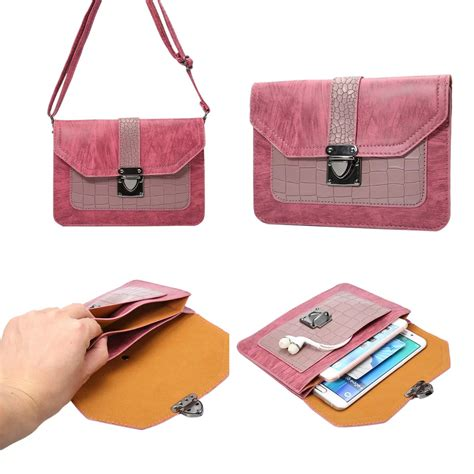 Pouch Mobil Selipan Caddy new cell phone pocket mobile phone cases purse shoulder bag pouch holder bag 6 3 ebay