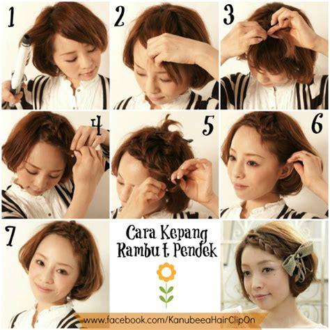 tutorial rambut bergelombang kanubeea hair clip march 2013