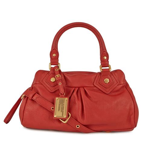 Marc By Marc Captain Shoulder Bag by Marc By Marc Classic Q Baby Groovee Leather