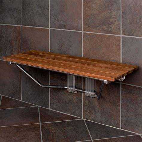 bathroom bench height shower bench height safety options the homy design
