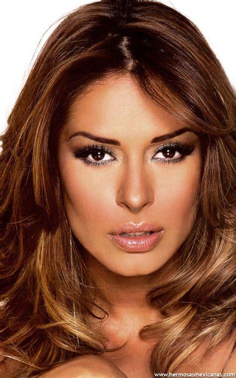 natural latina hair colors galilea montijo beautiful latina actresses