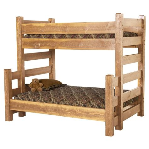 Barnwood Bunk Bed Beds And Headboards Barnwood Bunk Bed Bw14