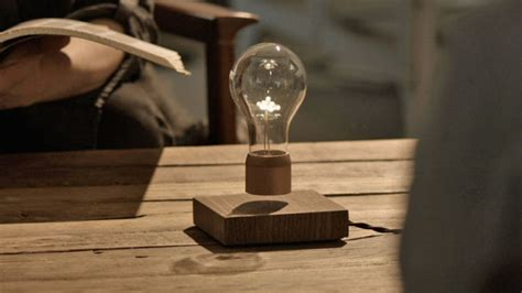 floating light bulb it s no hoverboard but this levitating light bulb is still a neat trick