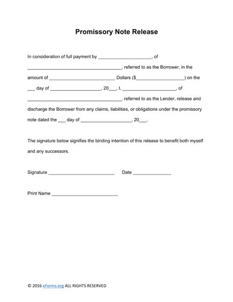 promissory note for personal loan template note template professional sles templates