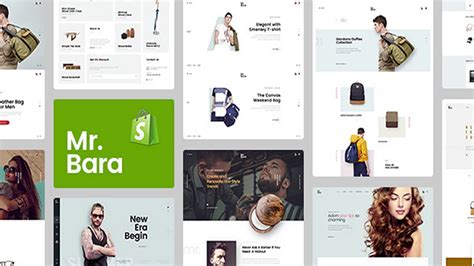 mr bara responsive ecommerce shopify template