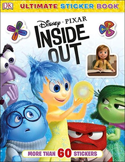 inside outside books disney pixar inside out books for