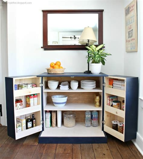 building a pantry cabinet diy freestanding kitchen pantry cabinet jaime costiglio