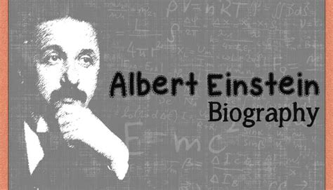biography of albert einstein in english short albert einstein biography short biographies for kids