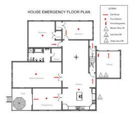 emergency exit floor plan ezblueprint com
