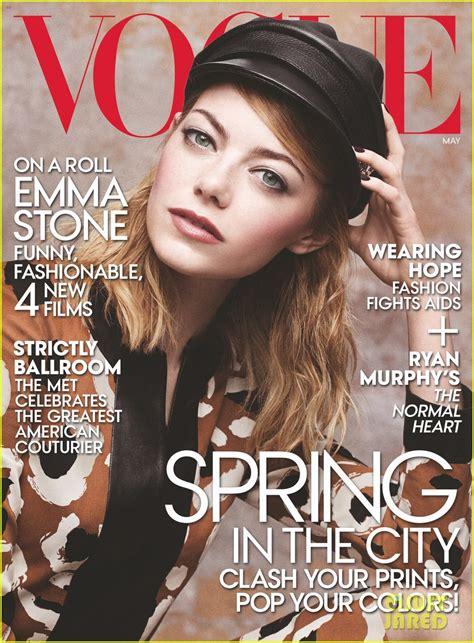 emma stone vogue cover full sized photo of emma stone vogue may 2014 03 photo