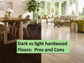 Pergo Vs Hardwood dark floors vs light floors pros and cons the flooring