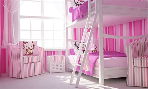 hello kitty bunk bed 25 hello kitty bedroom theme designs home design and