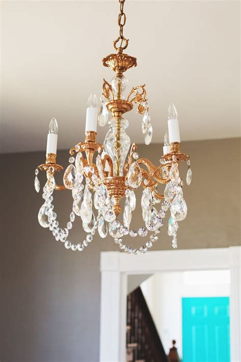 Diy Pipe Chandelier Our Restyled Copper Chandelier A Beautiful Mess