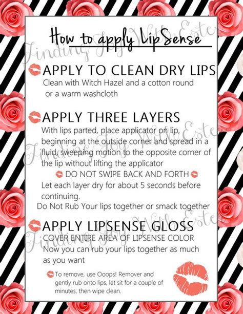 printable card trick instructions how to apply lipsense tips and tricks printable instant
