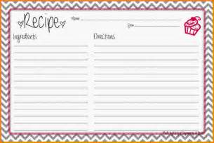 recipe template for word recipe card template jpg