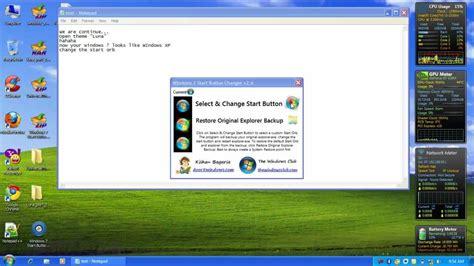 installing xp and wordpress on windows 7 install windows xp luna theme on windows 7 part 2 mp4