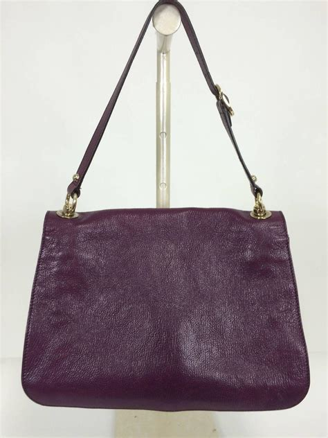 Merkin Large Plum Tote Purses Designer Handbags And Reviews At The Purse Page by Gucci Blondie Plum Glazed Leather Shoulder Handbag