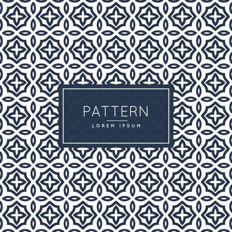 pattern vector islamic abstract islamic style pattern vector free download
